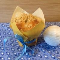 Auch Backen kann kreativ sein - oder - Aprikosen-Streusel-Muffins
