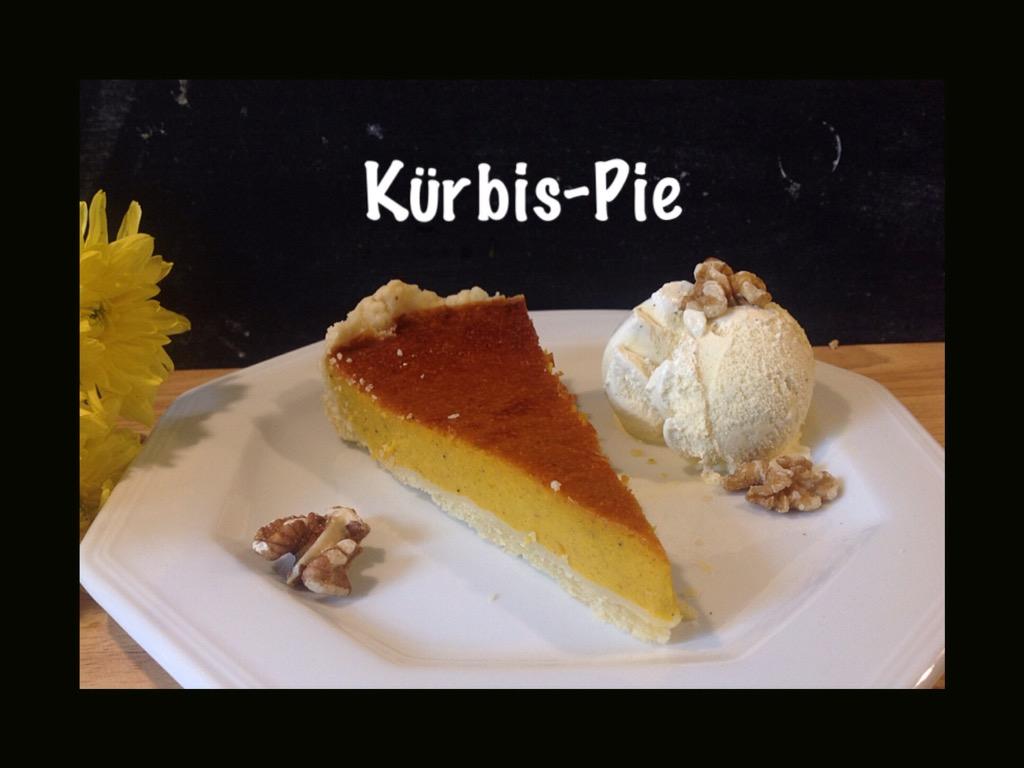 Ich back's mir im September: Pie – oder – Kürbis-Pie, die orange Versuchung