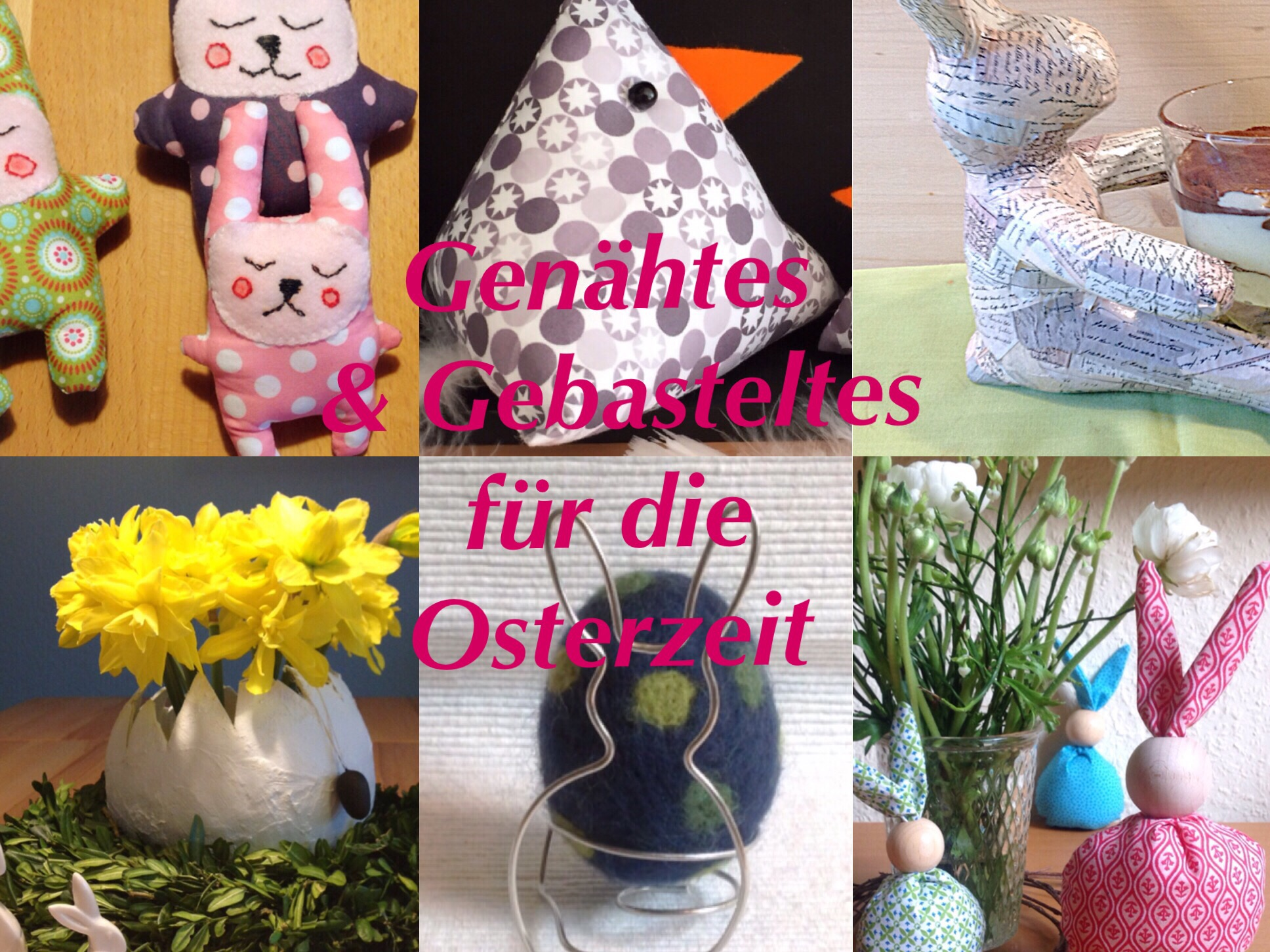 Lilamalerie welcomes Easter – oder – Alle Jahre wieder : Ostern