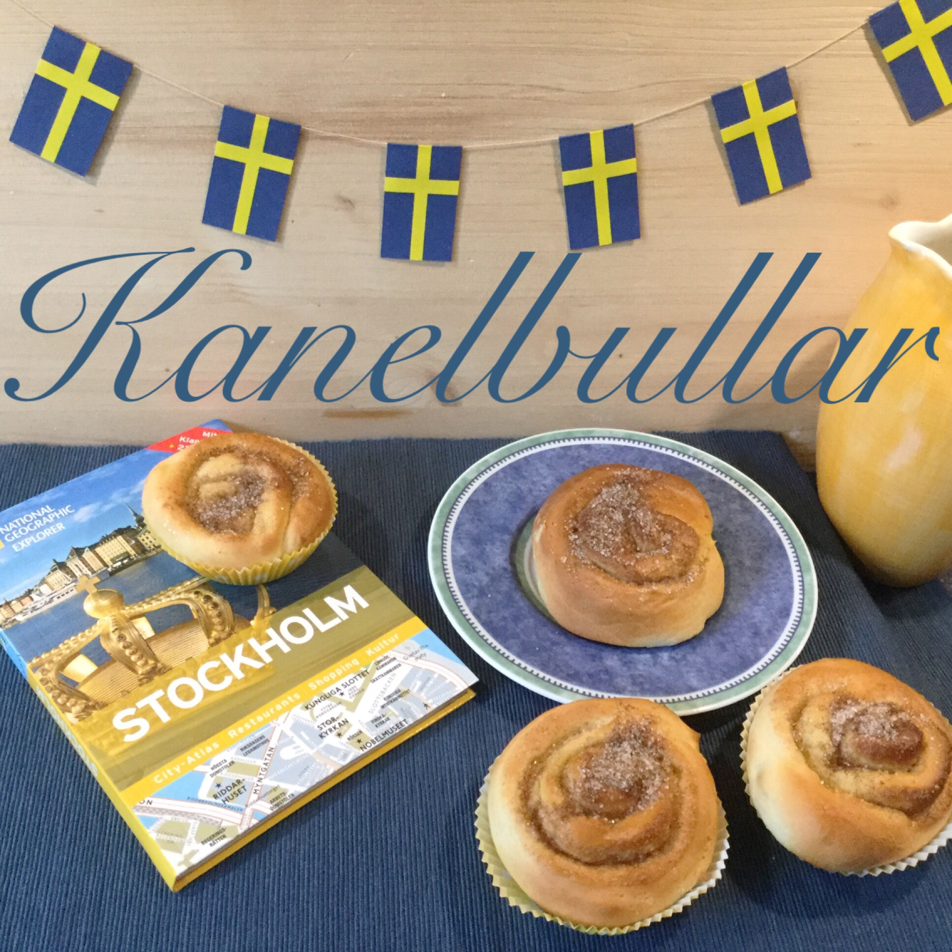 Kulinarische Stockholm-Erinnerung – oder – Kanelbullar sind Zimzschnecken