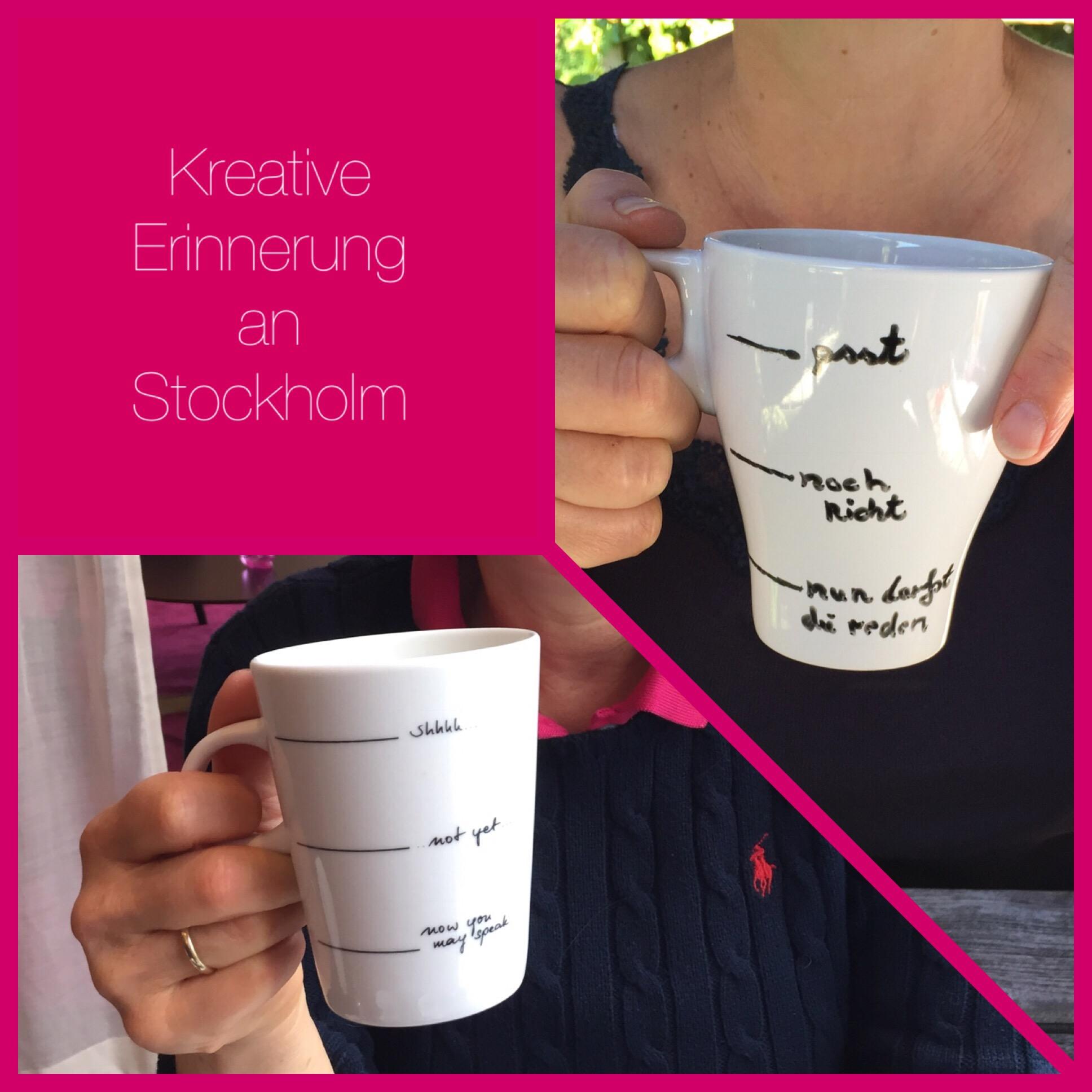 Stockholm-Impressionen II – oder – Erinnerungen mit dem Porzellanmalstift