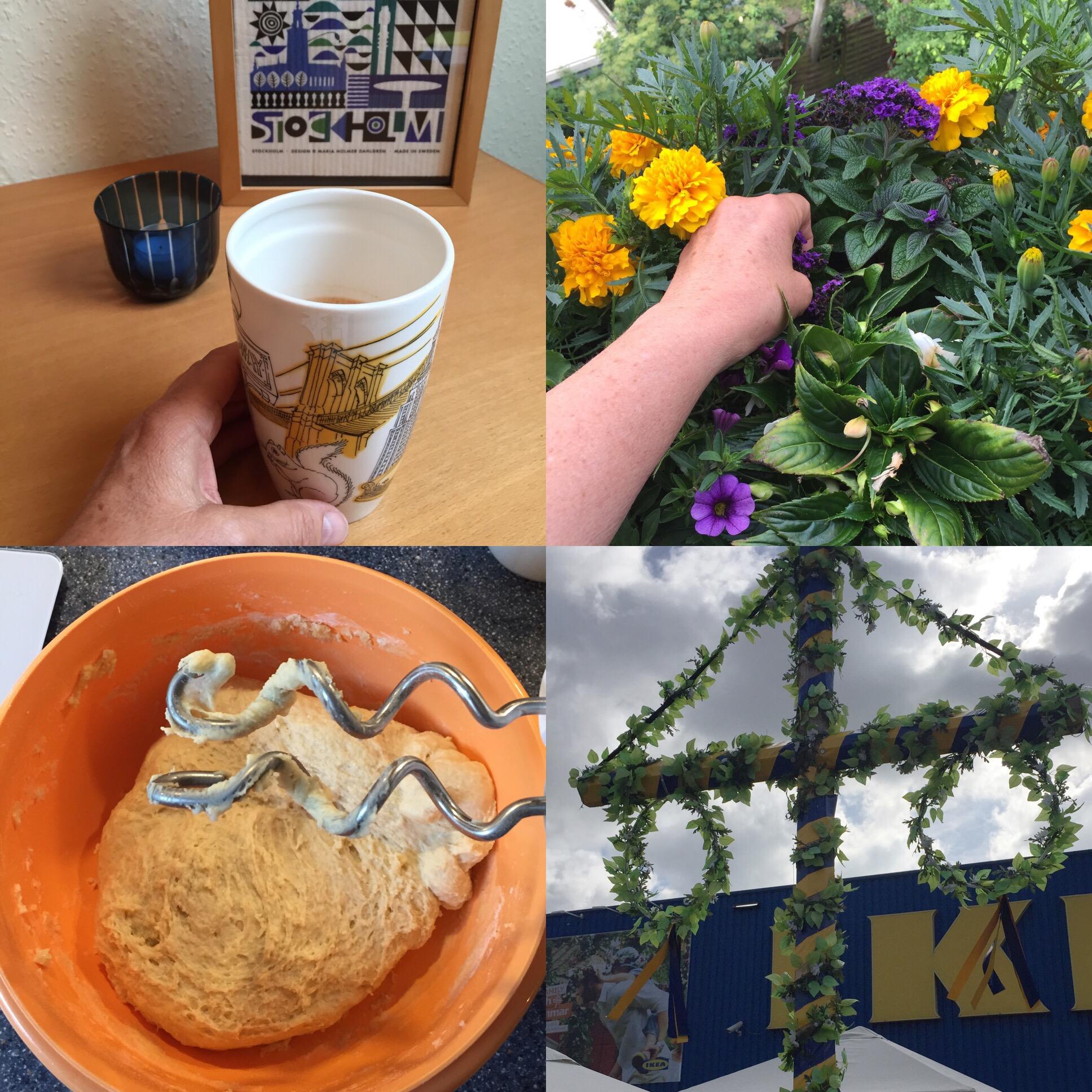 12 von 12 im Juni 2017 – oder – Sehr Schwedenlastig heute