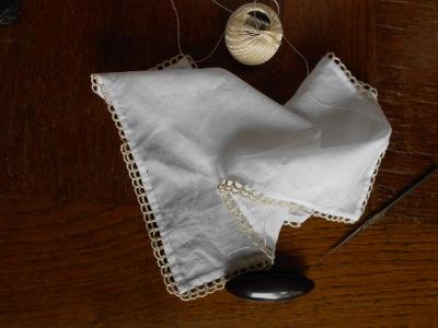 19th century handkerchief