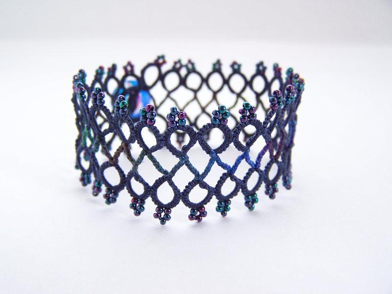 Bracelet roulotté