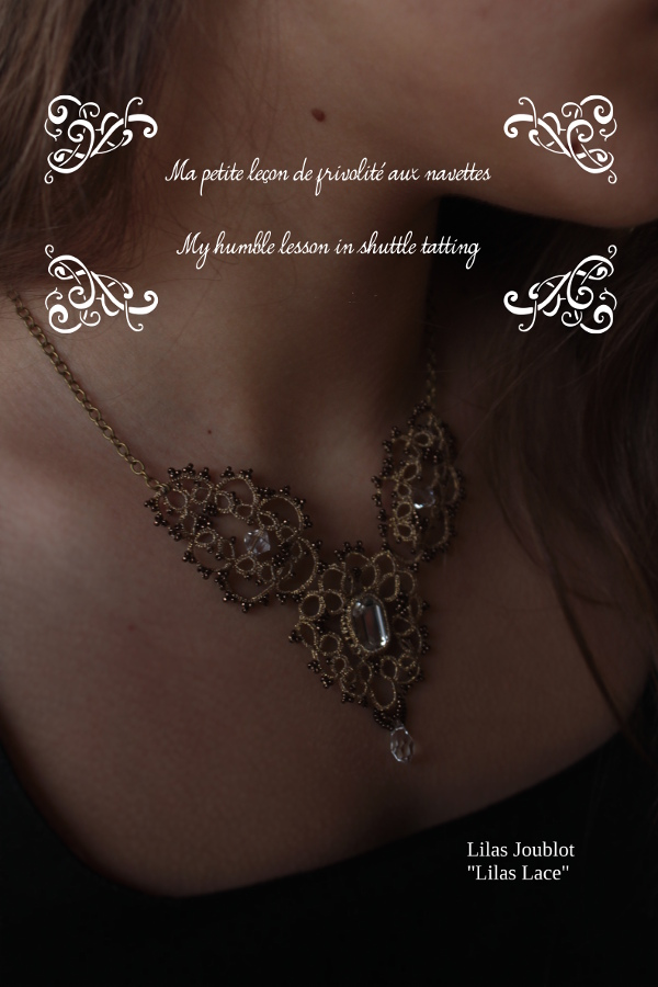 My first book: My humble lesson in shuttle tatting