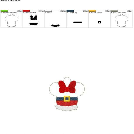 Santa-Girl-Mouse-Ornament 4×4