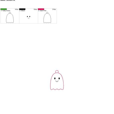 cute ghost 4×4