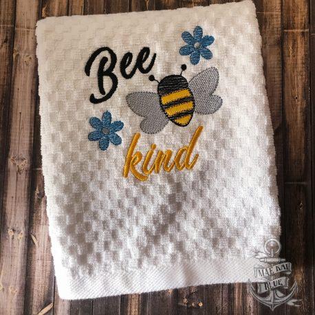Bee Kind Honeybee Towel 5×7 LL_0052