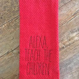 Teach the Children – 2 Sizes – Digital Embroidery Design