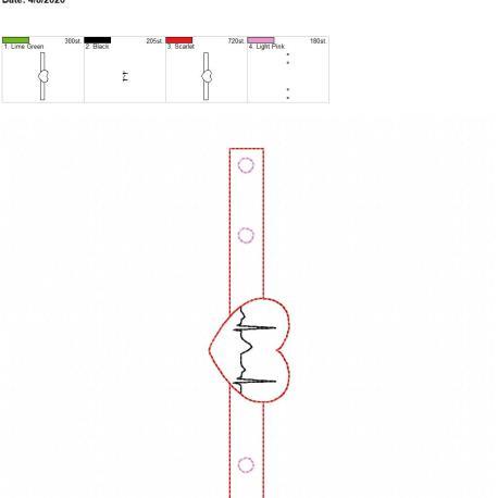 Mask extender EKG 5×7 single