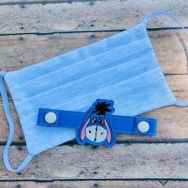 ITH Mask Extender Sad Donkey – 2 sizes – DIGITAL Embroidery DESIGN