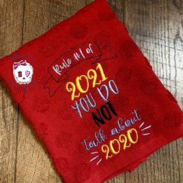 Rule 1 of 2021 – 5×7- Digital Embroidery Design