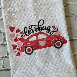 Lovebug – 3 sizes- Digital Embroidery Design