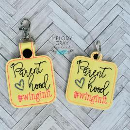 Parenthood Fobs – DIGITAL Embroidery DESIGN