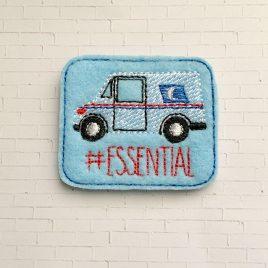 Mail Carrier Essential Feltie – Digital Embroidery Design