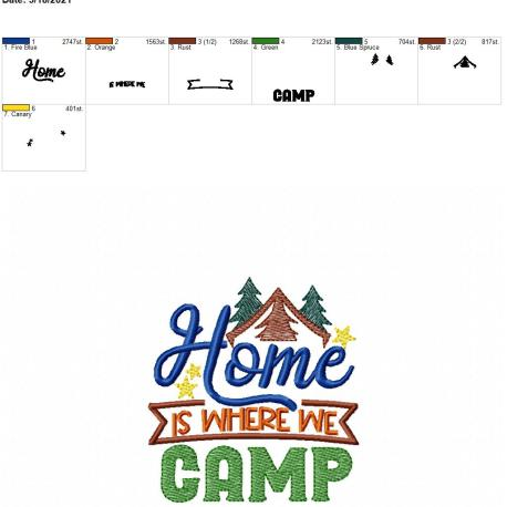 Home is where we camp 4×4