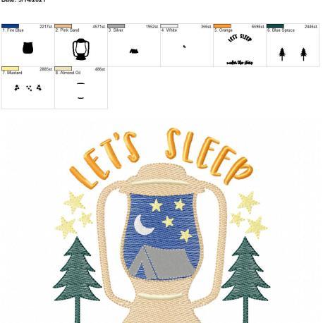 Let's sleep under the stars 6×10