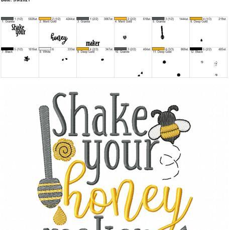 Shake your honey maker 6×10