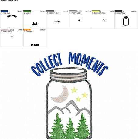 Collect Moments 5×7