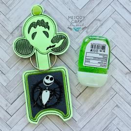 Oogie Mouse Applique Fold Over Sanitizer Holder 5×7- DIGITAL Embroidery DESIGN