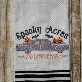 Spooky Acres – 3 sizes- Digital Embroidery Design