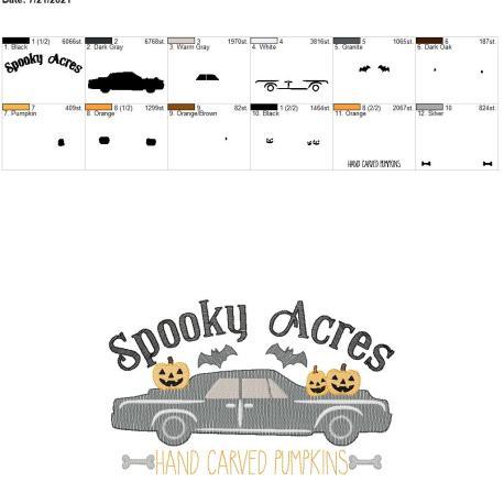 Spooky Acres 8×12