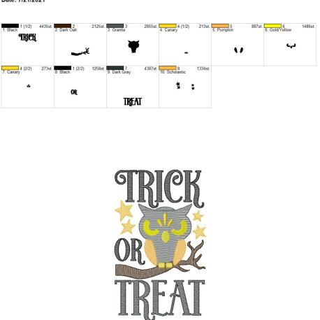 Trick or Treat 6×10