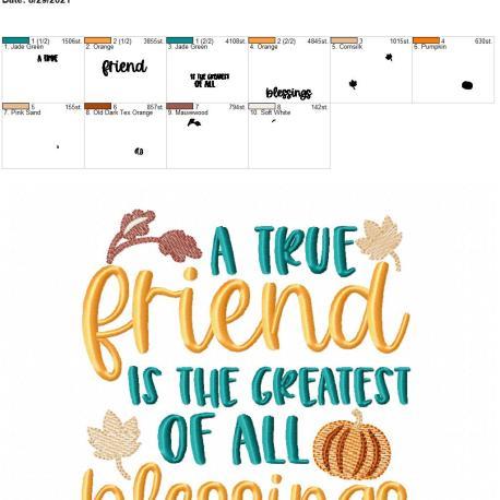 A true friend 6×10