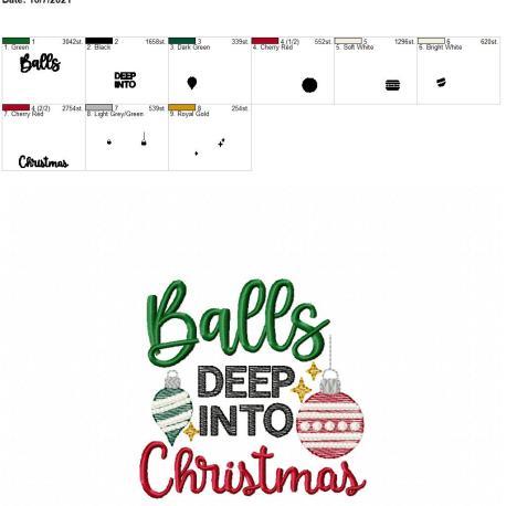 Balls deep into Christmas 4×4