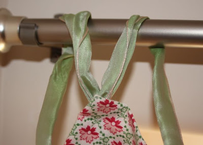 Hand Sewn Ribbon Top Curtain Tutorial And Using Ribbon To Pull A Room Together