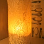 Diy Recycled Glass Bottle Candle Holder Lilbo Gnomie