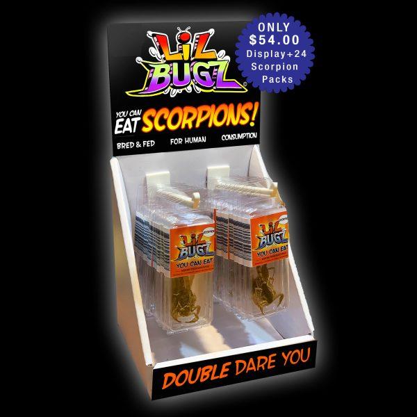 Edible Scorpion Display
