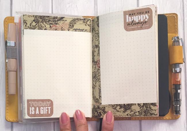 planners, journals, gratitude, chic sparrow, van der spek