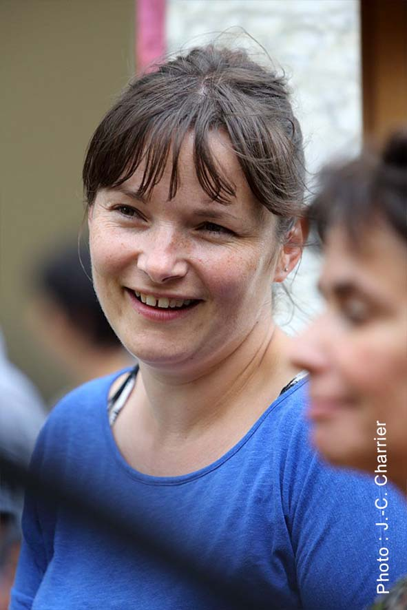 Agnès, bénévole