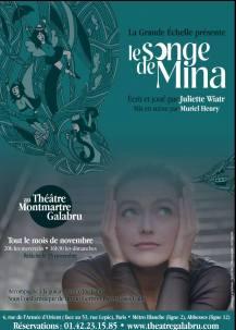 Le songe de Mina - Affiche