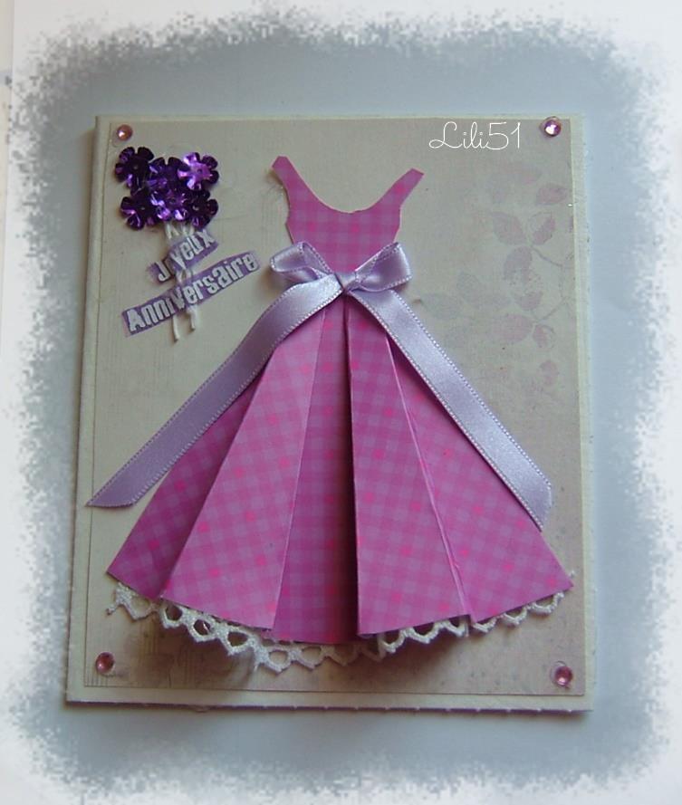 carte robe pour les creas de lili