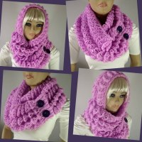 Angel Wings Hood Scarf