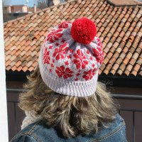 Cosmos Flowers Hat