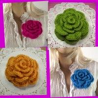 Flower Brooch Pin