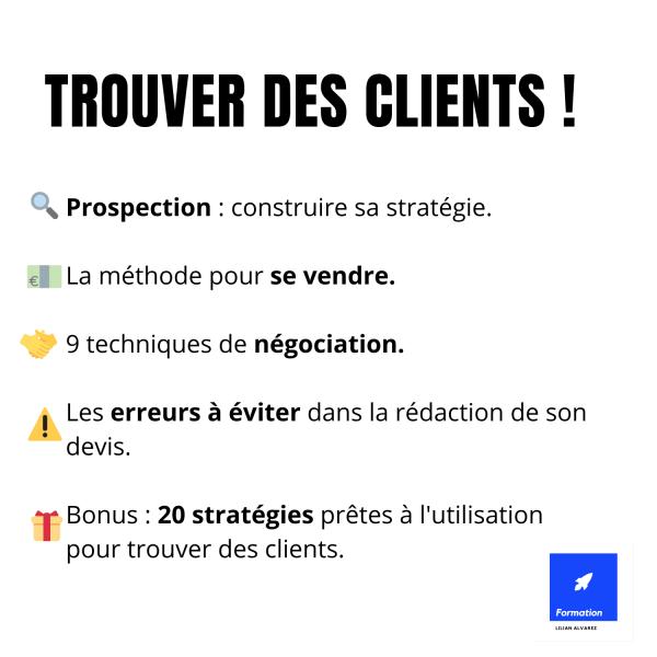 Trouver des clients en freelance.