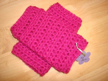 Hot Pink Wrist Warmers