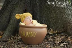 Pooh Hat - P.J. Charnock and Ansley Renee Photography. Used with Permission.