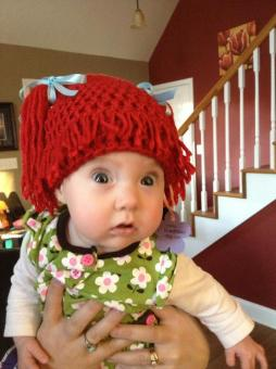 Cabbage Patch Hat - photo from Andrea C. Used with permission.