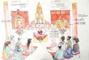 Tushita Meditation center Introduction to Buddhism 10 day course McLeod Ganj India