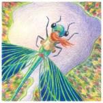 folktaleweek illustration illustrator childrensillustration bookillustration picturebookillustration drsgon fly birds eye view