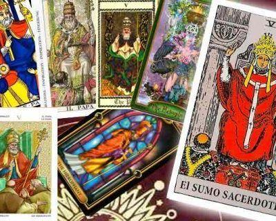 El Sumo Sacerdote en el Tarot – Arcano V