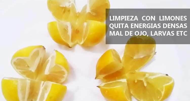 Limpia con Limones Mal de Ojo, Brujerias y Salaciones
