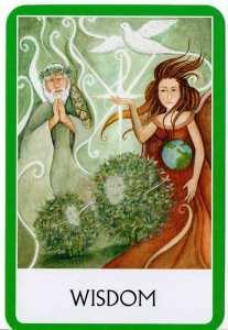 Oráculo de los Chakras - Sabiduria - Wisdom