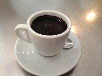 Hot chocolate from Museu de la Xocolata