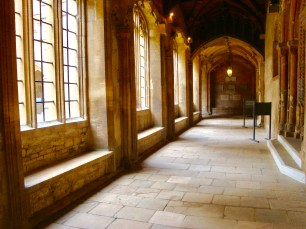 Corridor in Christ Church Cathedral, Oxford